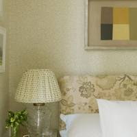 Pale Yellow Bed