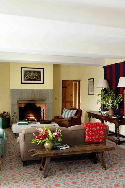 Living Room - Prince Charles' Welsh Home