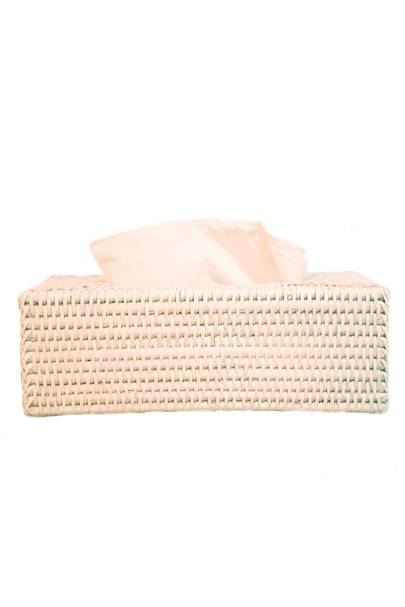 May 26: Kalinko Heho Tissue Box in White, £22