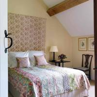 Floral Headboard Bedroom - Prince Charles' Welsh Home