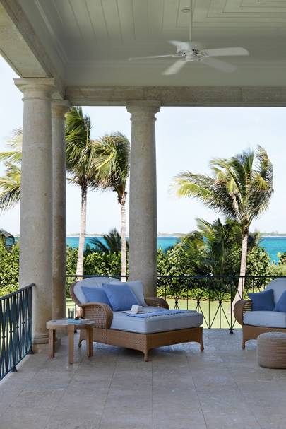 Bahamas Beach House Terrace