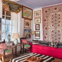 The Sitting Area | Dream Spanish Home Traditional Farmhouse