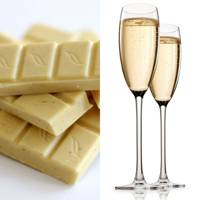 White Chocolate and Sparkling Wine