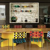 India Mahdavi: Coloured Chairs