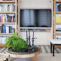 Television - At Home: Calm Brooklyn Apartment | Real Homes