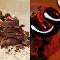 Chilli Chocolate and Gewurztraminer