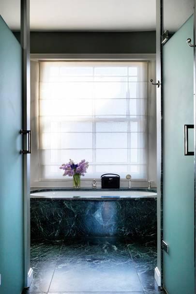 Bathroom - English Garden Square House
