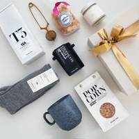 Curated and Hampered Hygge Hamper, £90