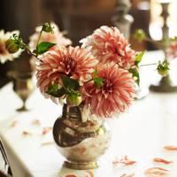 Dining Room Flowers - Wardington Manor