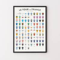 Tour de France history print, Etsy, from £21.25