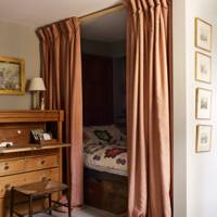 Curtained Bed Alcove