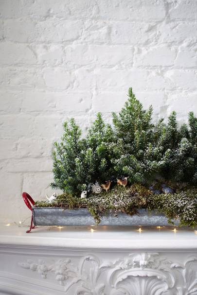 Small Space Christmas Tree Idea