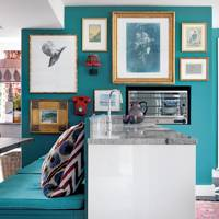 Bold Colour Kitchen