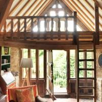 Magical a-frame barn conversion