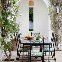 Moroccan Courtyard Dining