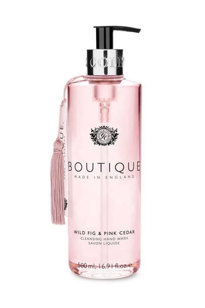 August 8: Boutique Wild Fig & Pink Grapefruit Hand Wash, £6