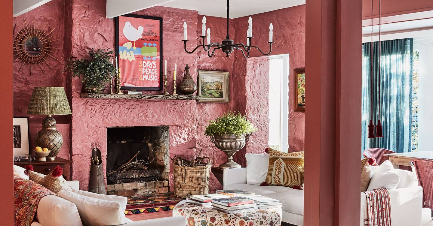 A joyfully colourful cottage in Sydney with hints of English country style