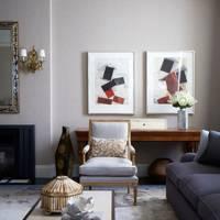 Formal Sitting Area - Modern Park Avenue Apartment