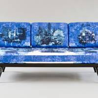 Timorous Beasties Studio Couch for Ercol