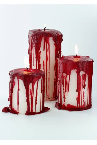 Bloody Candles - DIY Halloween