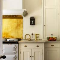 Yellow and Cream Kitchen