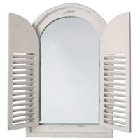 Shuttered Window Mirror