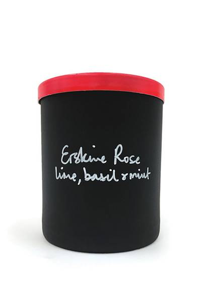 October 1: Erskine Rose Lime, Basil and Mint Scented Candle, £40