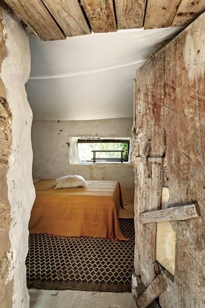 A Bedroom at Pietro Cuevas's Home