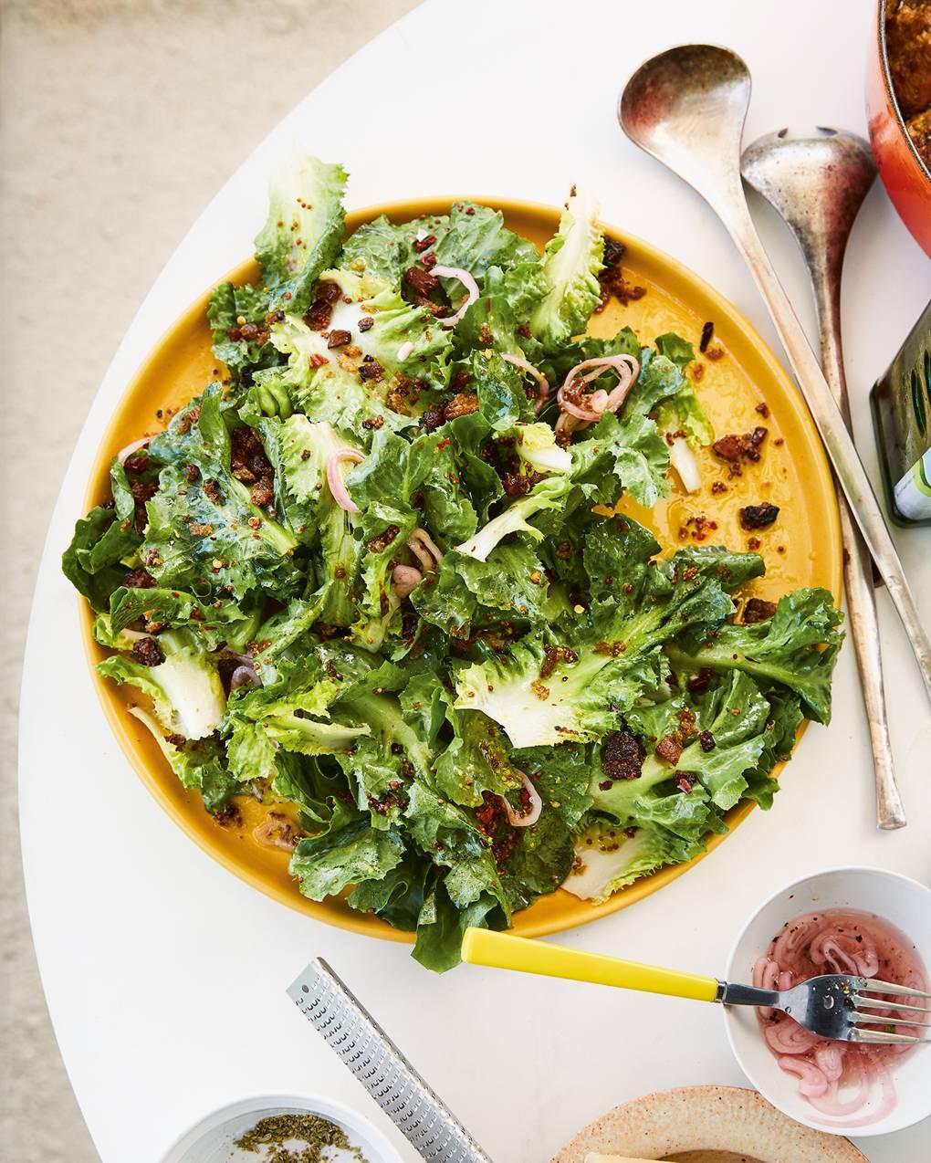 Escarole Salad Recipe House Garden