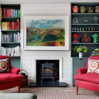 Open Plan Seating - Nicole Salvesen London Family Home
