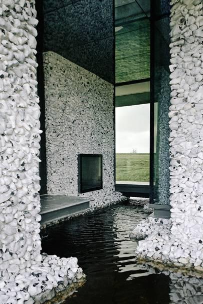 Flint House Waddesdon Manor Modern Rothschild