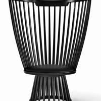 Black Fan Chair