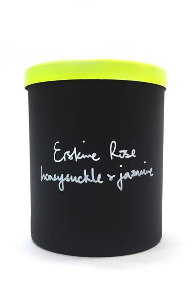 October 17: Erskine Rose Honeysuckle and Jasmine Scented Candle, £40