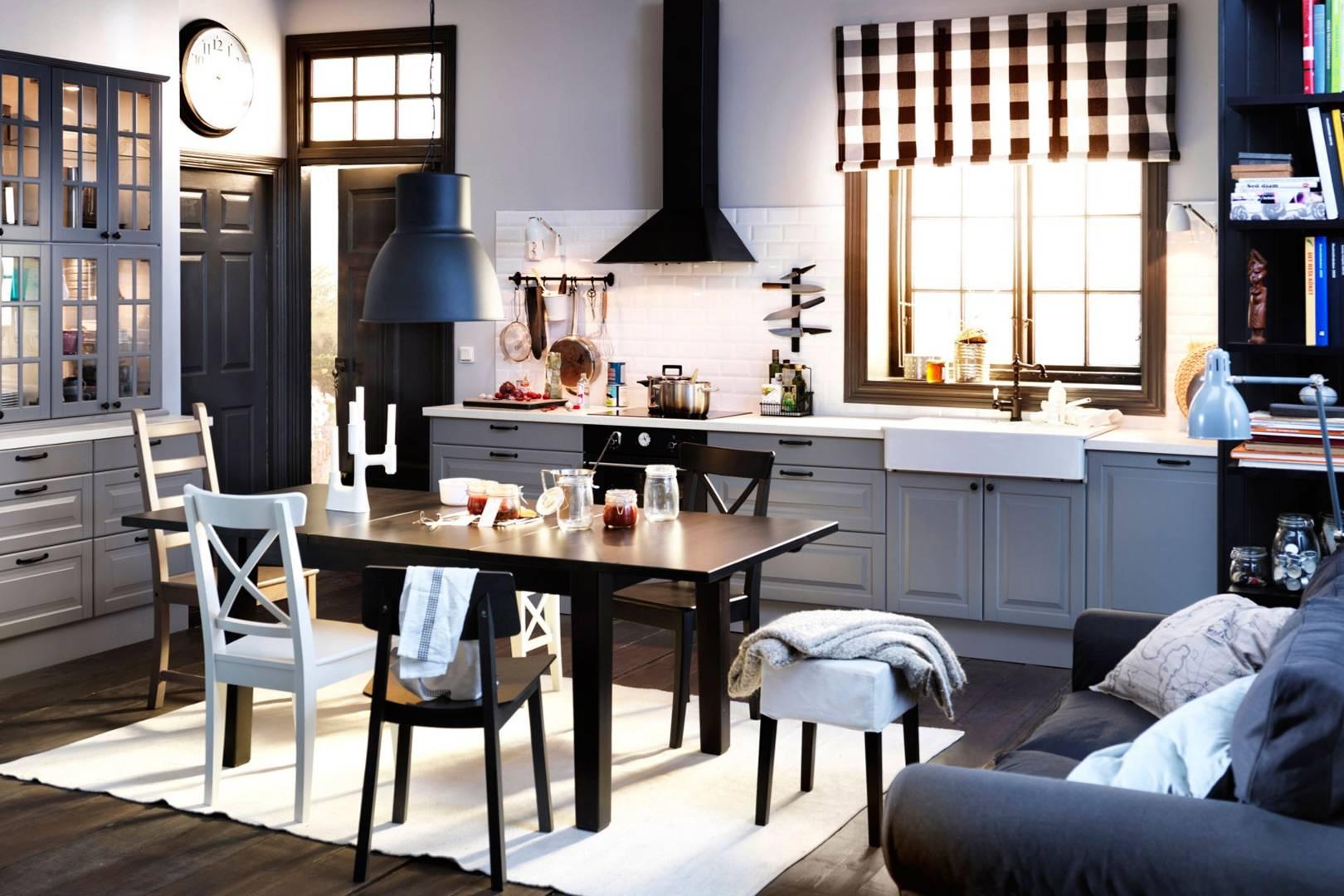 Small Ikea Kitchen Studio Small Spaces Ideas House Garden