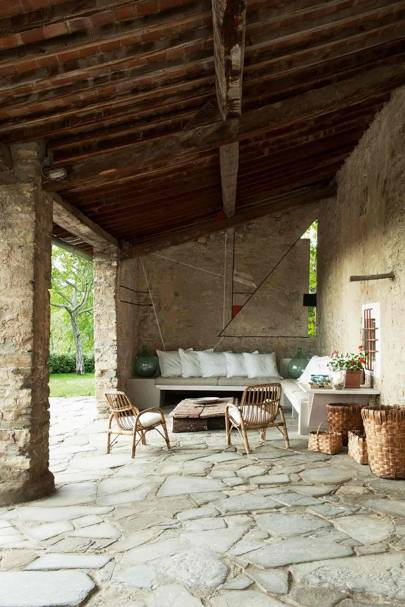 Tuscan Sheltered Patio
