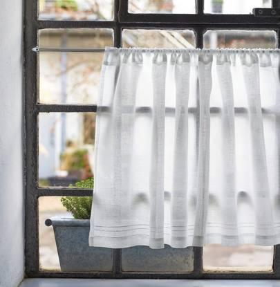 Half Curtain Linen Voile, £41