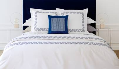 'Alliance Marine' bed linen from Yves Delorme