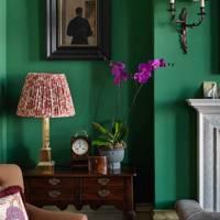 Living Room Corner - English Garden Square House