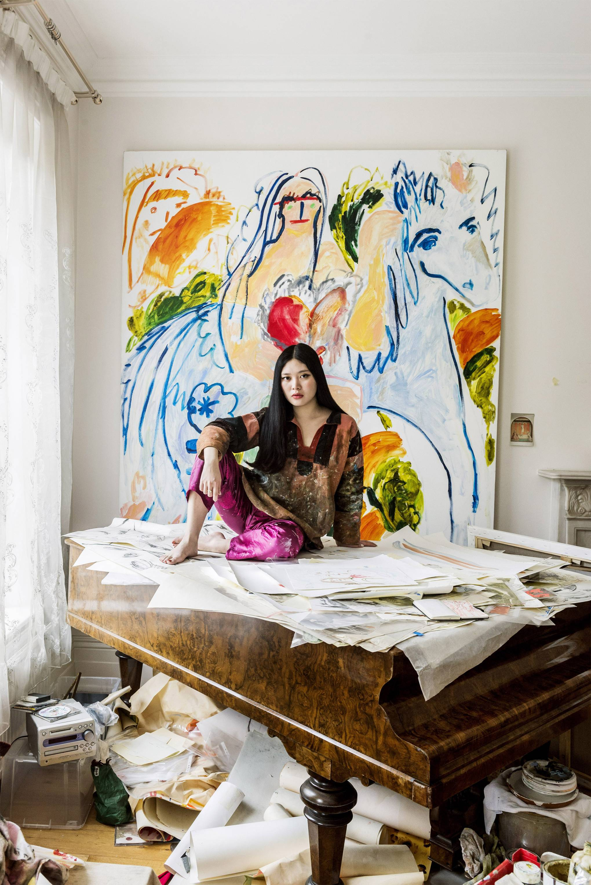 Artists in their studios: Faye Wei Wei's poetic, dream world