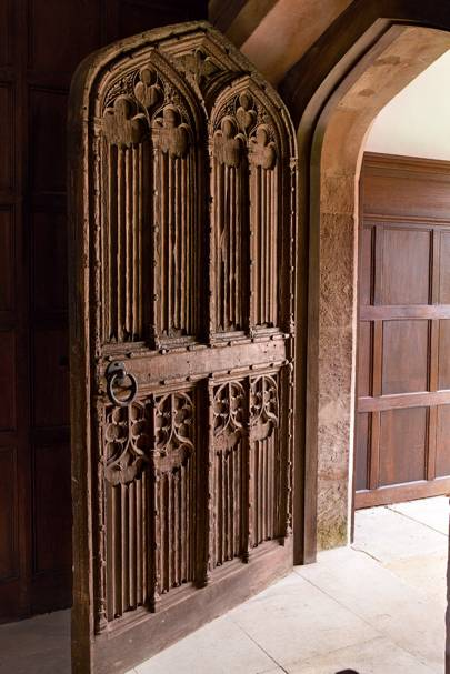 Carved Door - Apethorpe Palace