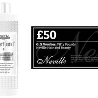 February 7: Neville Hair & Beauty, £80