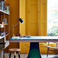 Bright Yellow Office