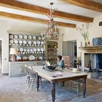 Robert Kime France kitchen