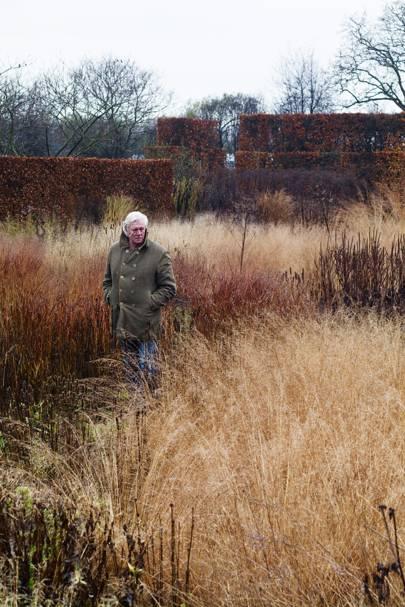 Piet in the Grass - Piet Oudolf's Dutch Garden