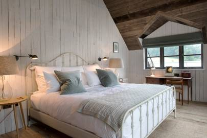 Soho Farmhouse: Panelled Attic Bedroom