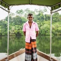 Douglas, dhani boat driver