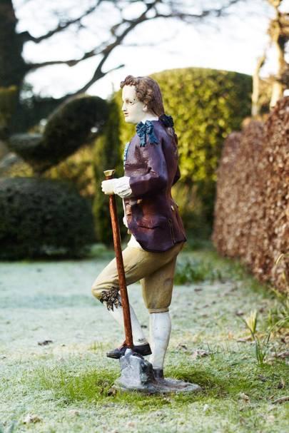 Antique Gardener Statue