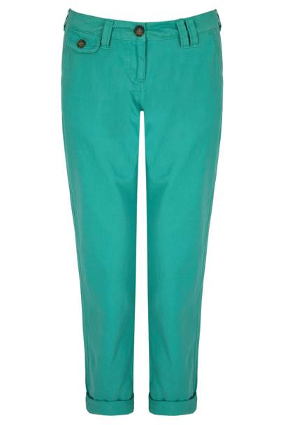 Cropped Turquoise
