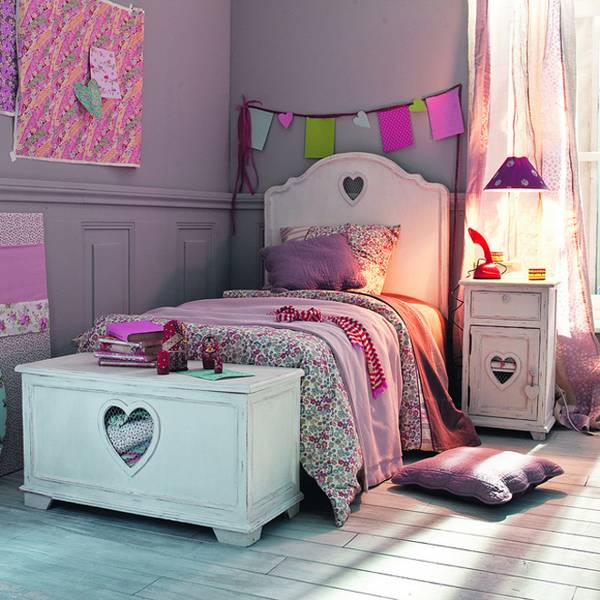 Girls Bedroom Ideas   Furniture, Wallpaper, Accessories | House U0026 Garden
