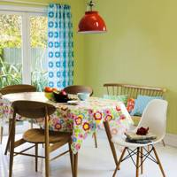 Update Your Tablecloth, Curtains and Lightshade